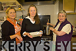 Cahersiveen Social Services team preparing Meals on Wheels for elderly residents of the area .L-R Eileen O'Sullivan, Manager of centre, Mary Cournane and Mary O'Shea