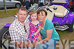 FAMILY FUN: Enjoying the family fun at the Ireland Bike Fest in Killarney on Sunday l-r: Colin Ava Anne-Marie Kelleher, Headford, Killarney.