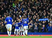 17th March 2019, Goodison Park, Liverpool, England; EPL Premier League Football, Everton versus Chelsea; Gylfi Sigurdsson of Everton celebrates after scoring his team's second goal after 72 minutes