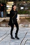Actress Alexandra Daddario in Athens