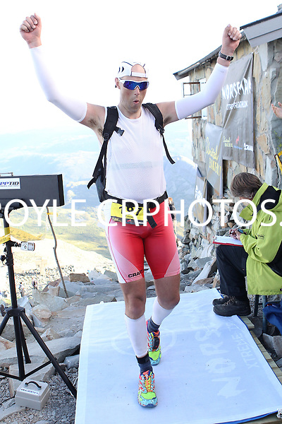 Race number 197 - Enno Swets - Norseman Xtreme Tri 2012 - Norway - photo by chris royle/ boxingheaven@gmail.com