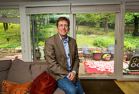 NWA Democrat-Gazette/JASON IVESTER --05/18/2015--<br /> Kyle Kellams; photographed on Monday, May 18, 2015, in his Fayetteville home for personal space