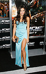 "HOLLYWOOD, CA. - August 06: Jenna Dewan arrives at a special screening of ""G.I. Joe: The Rise Of The Cobra"" on August 6, 2009 in Hollywood, California."
