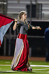 El Segundo, CA 11/15/13 - The El Segundo High School band and dance troup performs during halftime in action during the first round CIF Northern Divisional playoffs between El Segundo and Santa Paula.