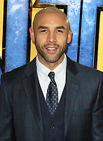 Alex Beresford at the Black Panther European Premiere at the Eventim Apollo, Hammersmith, London on Thursday 8th February 2018<br /> CAP/ROS<br /> CAP/ROS<br /> &copy;ROS/Capital Pictures