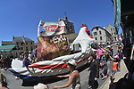 The Publicity caravan during Stage 15 of the 104th edition of the Tour de France 2017, running 189.5km from Laissac-Severac l'Eglise to Le Puy-en-Velay, France. 16th July 2017.<br /> Picture: ASO/Bruno Bade   Cyclefile<br /> <br /> <br /> All photos usage must carry mandatory copyright credit (&copy; Cyclefile   ASO/Bruno Bade)