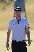 Nico Geyger (CHI) on the 3rd hole during Friday's Round 2 of the 2018 Dubai Duty Free Irish Open, held at Ballyliffin Golf Club, Ireland. 6th July 2018.<br /> Picture: Eoin Clarke | Golffile<br /> <br /> <br /> All photos usage must carry mandatory copyright credit (&copy; Golffile | Eoin Clarke)