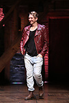 """Kyle Weiler during the eduHAM Q & A before The Rockefeller Foundation and The Gilder Lehrman Institute of American History sponsored High School student #EduHam matinee performance of """"Hamilton"""" at the Richard Rodgers Theatre on October 30, 2019 in New York City."""