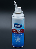 Afrisal, agua de mar, descongestionante nasal. / sea water, nasal decongestant. Photo: VizzorImage / Gabriel Aponte / Staff