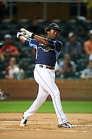 Peoria Javelinas Justin Williams (25), of the Tampa Bay Rays organization, during the Bowman Hitting Challenge on October 8, 2016 at the Salt River Fields at Talking Stick in Scottsdale, Arizona.  (Mike Janes/Four Seam Images)