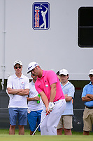 Jon Rahm (ESP) chips on to 3 during round 3 of the Dean &amp; Deluca Invitational, at The Colonial, Ft. Worth, Texas, USA. 5/27/2017.<br /> Picture: Golffile | Ken Murray<br /> <br /> <br /> All photo usage must carry mandatory copyright credit (&copy; Golffile | Ken Murray)