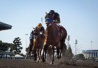May 28, 2012. Roman Threat and Rafael Bejarano win the Los Angeles Handicap(GIII) at Betfair Hollywood Park, Inglewood, Ca.
