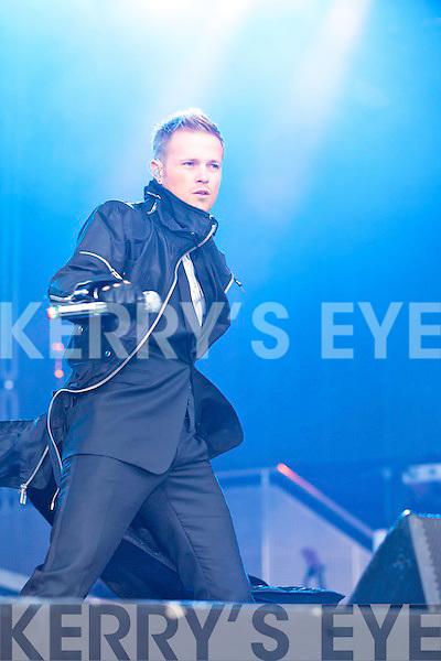 Westlife concert in Fitzgerald Stadium, Killarney Sunday