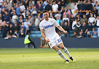Leeds United's Jack Harrison after scoring his side's first goal<br /> <br /> Photographer Rob Newell/CameraSport<br /> <br /> The EFL Sky Bet Championship - Millwall v Leeds United - Saturday 15th September 2018 - The Den - London<br /> <br /> World Copyright &copy; 2018 CameraSport. All rights reserved. 43 Linden Ave. Countesthorpe. Leicester. England. LE8 5PG - Tel: +44 (0) 116 277 4147 - admin@camerasport.com - www.camerasport.com