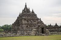 Yogyakarta, Java, Indonesia.  Plaosan Buddhist Temple Complex, 9th. Century.