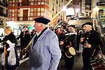 BILBAO-ESPAÑA-SOCIEDAD.<br /> Traditional Saint Aguedas nigth with popular choirs.<br /> Bilbao;  04/02/2014.<br /> En la imagen :