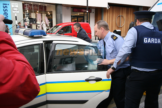 The 28-year-old Co Louth man before court this morning in connection with a fatal stabbing in Drogheda on Sunday night.  Colm Donlan, who was also 28, was found dead in an apartment on Fair Street at around 10pm on Sunday night...Photo NEWSFILE/Jenny Matthews.(Photo credit should read Jenny Matthews/NEWSFILE)....This Picture has been sent you under the condtions enclosed by:.Newsfile Ltd..The Studio,.Millmount Abbey,.Drogheda,.Co Meath..Ireland..Tel: +353(0)41-9871240.Fax: +353(0)41-9871260.GSM: +353(0)86-2500958.email: pictures@newsfile.ie.www.newsfile.ie.FTP: 193.120.102.198...Photo NEWSFILE/Jenny Matthews.(Photo credit should read Jenny Matthews/NEWSFILE)....This Picture has been sent you under the condtions enclosed by:.Newsfile Ltd..The Studio,.Millmount Abbey,.Drogheda,.Co Meath..Ireland..Tel: +353(0)41-9871240.Fax: +353(0)41-9871260.GSM: +353(0)86-2500958.email: pictures@newsfile.ie.www.newsfile.ie.FTP: 193.120.102.198.