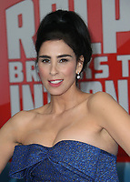 05 November 2018 - Hollywood, California - Sarah Silverman &quot;Ralph Breaks The Internet&quot; Los Angeles Premiere held at El Capitan Theater. <br /> <br /> CAP/ADM/FS<br /> &copy;FS/ADM/Capital Pictures