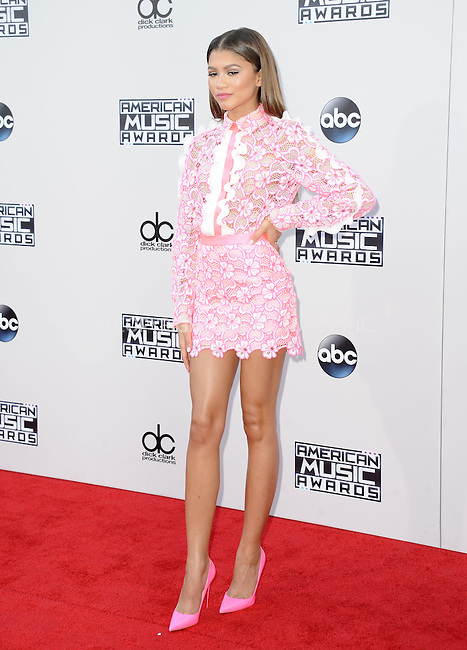 WWW.ACEPIXS.COM<br /> <br /> November 22 2015, LA<br /> <br /> Zendaya arriving at the 2015 American Music Awards at the Microsoft Theater on November 22, 2015 in Los Angeles, California.<br /> <br /> By Line: Peter West/ACE Pictures<br /> <br /> <br /> ACE Pictures, Inc.<br /> tel: 646 769 0430<br /> Email: info@acepixs.com<br /> www.acepixs.com