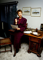 EXCLUSIVE PHOTO  - Anne Letourneau<br /> <br />  circa 1987.