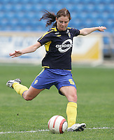 MAR 15, 2006: Faro, Portugal:  Caroline Seger
