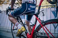 Victor Lafay (FRA/Cofidis) post-race<br /> <br /> MEN UNDER 23 ROAD RACE<br /> Kufstein to Innsbruck: 180 km<br /> <br /> UCI 2018 Road World Championships<br /> Innsbruck - Tirol / Austria
