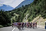 The peloton led by Team Ineos during Stage 20 of the 2019 Tour de France running 59.5km from Albertville to Val Thorens, France. 27th July 2019.<br /> Picture: ASO/Pauline Ballet | Cyclefile<br /> All photos usage must carry mandatory copyright credit (© Cyclefile | ASO/Pauline Ballet)