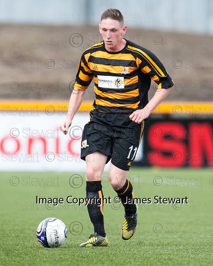 Alloa's Declan McManus.