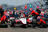 Verizon IndyCar Series<br /> Indianapolis 500 Carb Day<br /> Indianapolis Motor Speedway, Indianapolis, IN USA<br /> Friday 26 May 2017<br /> Graham Rahal, Rahal Letterman Lanigan Racing Honda Pit Stop Competition<br /> World Copyright: Russell LaBounty<br /> LAT Images