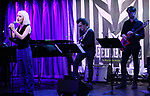 Sophia Anne Caruso and band during Broadway's 'Beetlejuice' - First Look Presentation at Subculture  on February 28, 2019 in New York City.