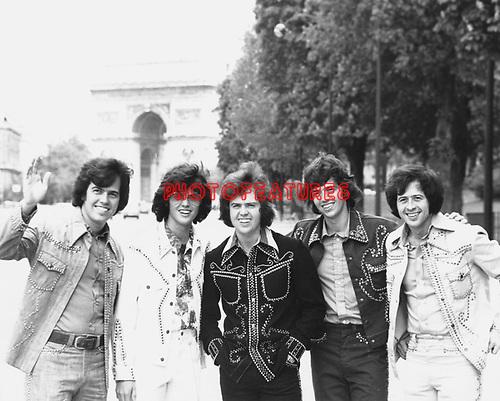 Osmonds 1975 in Paris.© Chris Walter.