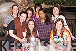 Ashling O'Riordan, Helen O'Sullivan, Betesaida Hailegeorgis, Annmarie Jones, Corina Bulman, Aine McMahon, Ellen Parker Lawlor, Cindy Walsh enjoying a girls night out at Finnegans Restaurant on Thurday