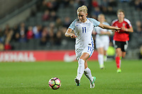Isobel Christiansen (Manchester City) of England Women during the Women's Friendly match between England Women and Austria Women at stadium:mk, Milton Keynes, England on 10 April 2017. Photo by PRiME Media Images / David Horn.
