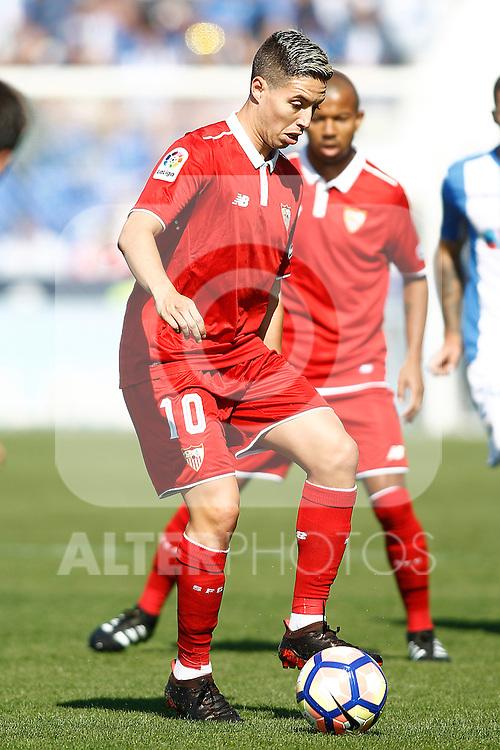 Sevilla FC's Samir Nasri during La Liga match. October 15,2016. (ALTERPHOTOS/Acero)