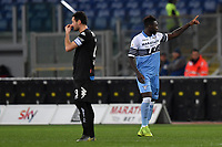 Felipe Caicedo of Lazio celebrates after scoring the goal of 1-0 on penalty during the Serie A 2018/2019 football match between Lazio and Empoli at stadio Olimpico, Roma, February 7, 2019 <br />  Foto Andrea Staccioli / Insidefoto
