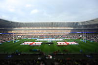 General view of Twickenham Stadium (with Tilt Shift effect added) during the national anthems during the QBE Autumn International match for the Cook Cup between England and Australia at Twickenham on Saturday 2nd November 2013 (Photo by Rob Munro)