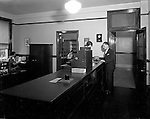 Pittsburgh PA:  Employees at work, Office of the Registrar, Duquesne University - 1932