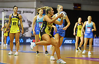 Maddy Gordon in action duirng the ANZ Championship netball match between Northern Mystics and Central Pulse at the Auckland Netball Centre in Auckland, New Zealand on Saturday 18 July 2020. Photo: Simon Watts / bwmedia.co.nz