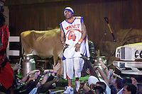 Nelly and the St. Lunatics perform at The Source Hip-Hop Music Awards 2001 at the Jackie Gleason Theater in Miami Beach, Florida.  8/20/01  Photo by Scott Gries/ImageDirect
