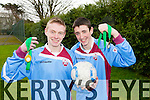 St. Josephs and St Itas Balloonagh students Owen Breen and Jason Creane lined out for Munster in the sport for all senior soccer interprovincial championships