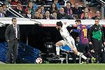 Real Madrid CF's  Isco Alarcon and FC Barcelona's coach Ernesto Valverde (L), Leo Messi during La Liga match. March 02,2019. (ALTERPHOTOS/Alconada)