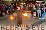 Fire Performers at the Circus Festival in the Square on Saturday