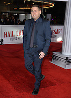 Actor Jonah Hill at the world premiere of his movie &quot;Hail Caesar!&quot; at the Regency Village Theatre, Westwood.<br /> February 1, 2016  Los Angeles, CA<br /> Picture: Paul Smith / Featureflash