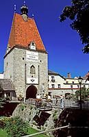 Oesterreich, Oberoesterreich, Muehlviertel, Freistadt: Linzer Tor | Austria, Upper Austria, Muehlviertel, Freistadt: town gate Linzer Tor