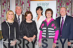 Castleisland Family Resource who won the Groups with Particular Needs category at the Kerry Community Awards in the Dromhall Hotel on Sunday l-r: Deloras McElligott, Ned Brosnan, Marie O'Connor President, Liz Galwey, Helen O'Donoghue and John O'Sullivan..