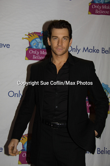 Andy Karl going to be in Rocky at Only Make Believe on Broadway - 14th Annual Gala - on November 4, 2013 hosted by Sir Ian McKellen honoring Susan Sarandon in New York City, New York.  (Photo by Sue Coflin/Max Photos)