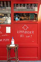 Indicazioni di ristoranti con cibo da asporto<br /> Pizzeria