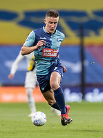 Wycombe Wanderers' David Wheeler breaks <br /> <br /> Photographer Andrew Kearns/CameraSport<br /> <br /> Sky Bet League One Play Off Final - Oxford United v Wycombe Wanderers - Monday July 13th 2020 - Wembley Stadium - London<br /> <br /> World Copyright © 2020 CameraSport. All rights reserved. 43 Linden Ave. Countesthorpe. Leicester. England. LE8 5PG - Tel: +44 (0) 116 277 4147 - admin@camerasport.com - www.camerasport.com