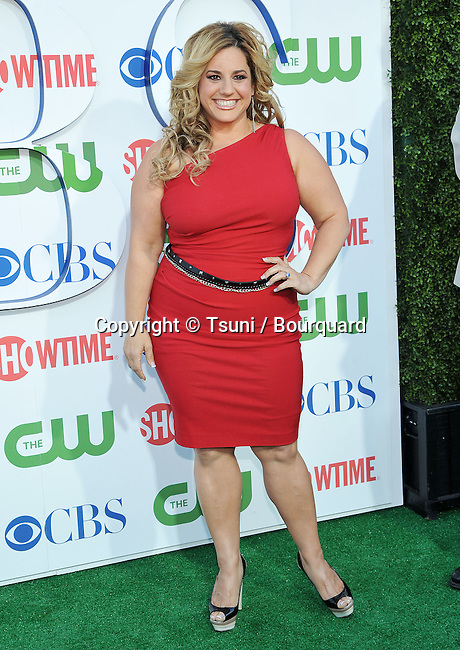 Marissa Jaret Winokur<br /> CBS-CW-Showtime_ tca party at the Beverly Hiton Hotel in Los Angeles.