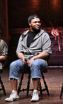 "Sean Green  during the  #EduHam matinee performance Q & A for ""Hamilton"" at the Richard Rodgers Theatre on 3/28/2018 in New York City."